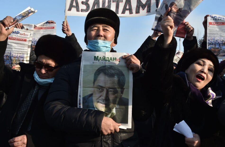 Sadyr Japarov is elected president of Kyrgyzstan in a landslide