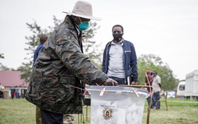 Yoweri Museveni wins Uganda's flawed presidential election