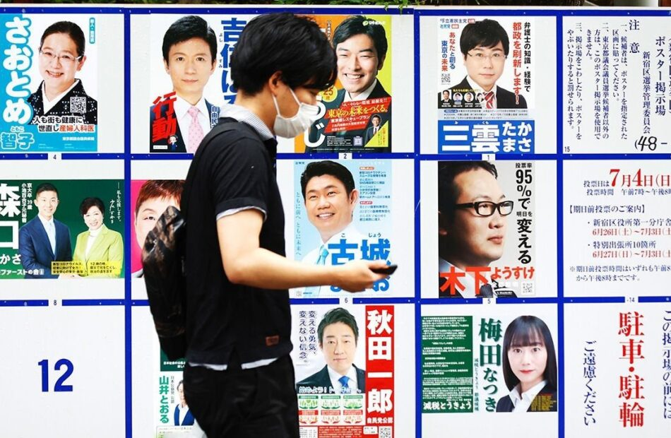 Election results from Tokyo bring bad news for Japan's prime minister