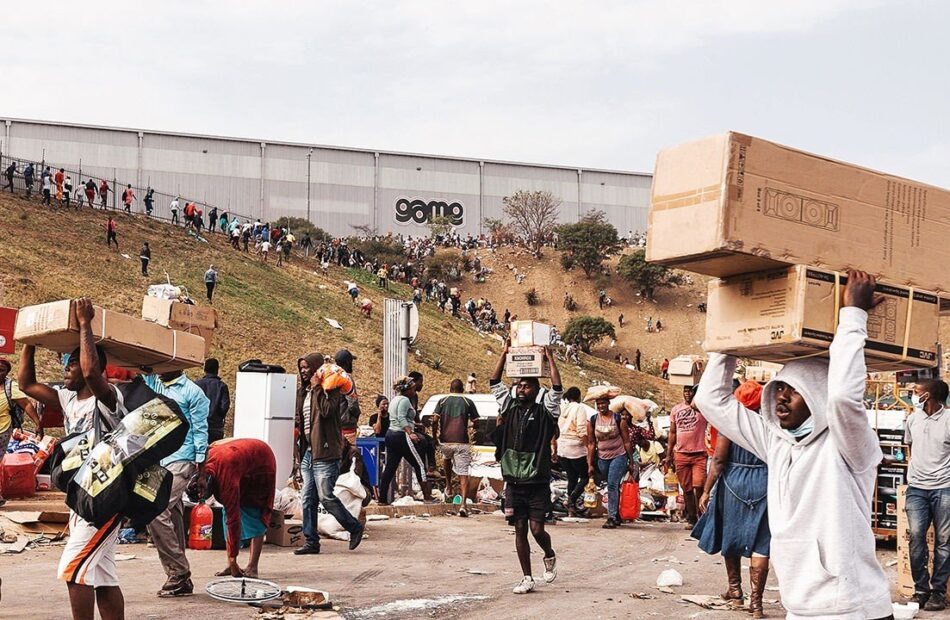 South Africa reels from the worst violence since apartheid